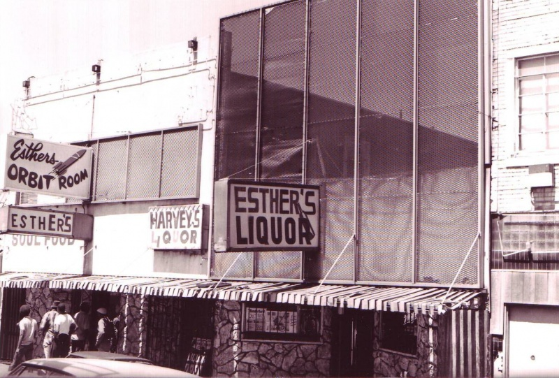 Esther's Orbit Room, early 1980s
