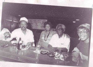 Bernard Chaffers, Esther Mabry, Henry Doyle and Poochie Evans, 1985